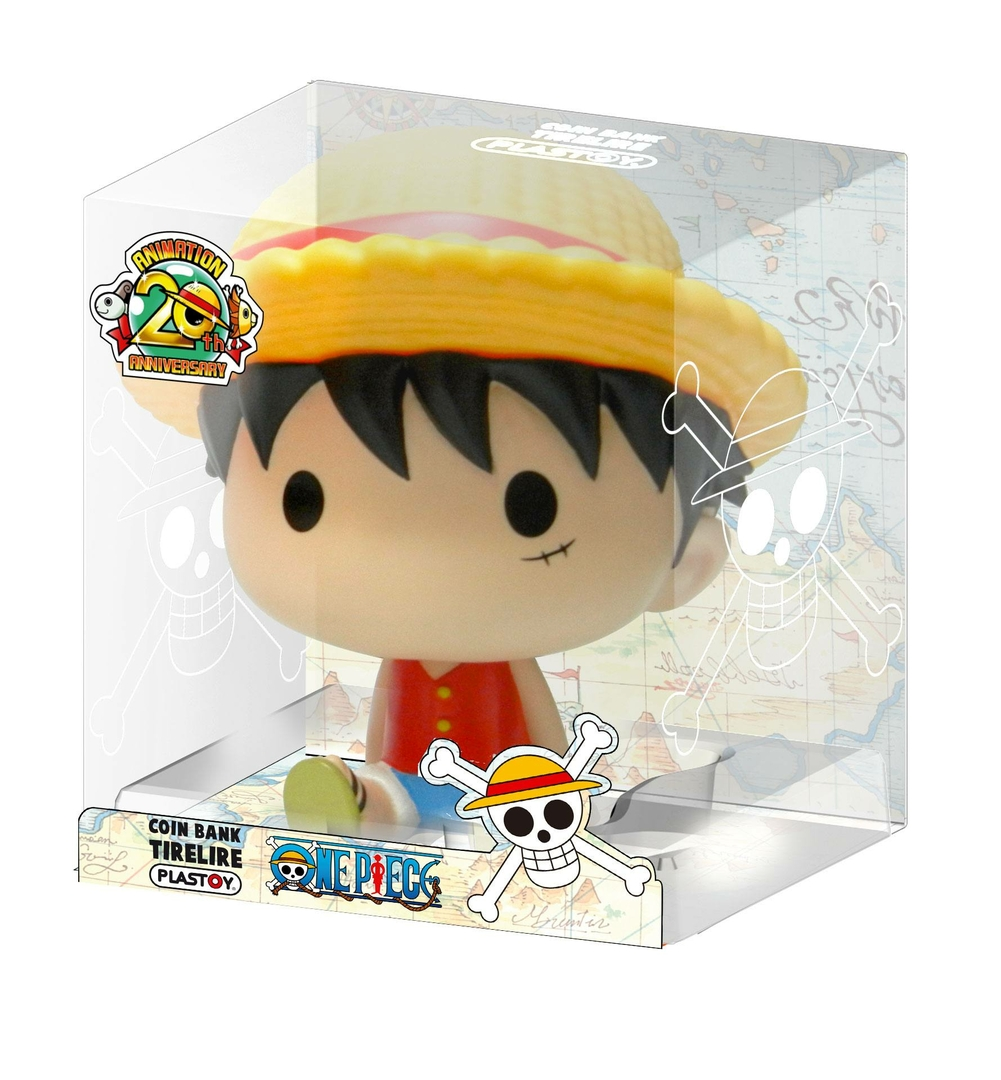 Tirelire One Piece Chibi Luffy 15cm lulu shop 2