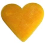 Mini Savon cœur Orange & Gingembre Lulu Shop