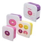 Lot de trois boîtes repas - Design Donut Lulu Shop 1