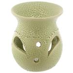 Petit brûleur à huile en céramique - Design craquelé Lulu shop 2
