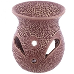 Petit brûleur à huile en céramique - Design craquelé Lulu shop 4