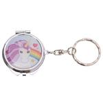 Porte-clés avec miroir de poche - Licorne Lulu Shop 3