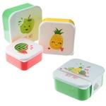Lot de 3 Boîtes Repas - Têtes de Fruits  Lulu Shop 1