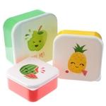Lot de 3 Boîtes Repas - Têtes de Fruits  Lulu Shop 5