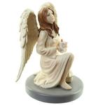 Figurine Ange Gardien Céleste par Natacha Faulkner avec Bougie lulu shop 2