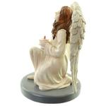 Figurine Ange Gardien Céleste par Natacha Faulkner avec Bougie lulu shop 4