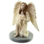 Figurine Ange Gardien Céleste par Natacha Faulkner avec Bougie lulu shop 5