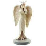 Figurine Ange Gardien Céleste par Natacha Faulkner - Colombe lulu shop 2
