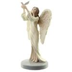 Figurine Ange Gardien Céleste par Natacha Faulkner - Colombe lulu shop 3