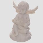 Figurine Ange blancs portant une étoile LED lulu shop 2