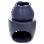 Bruleur à Huile Céramique Bleu Foncé lulu shop 3