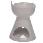 Bruleur à Huile Céramique blanc avec cœur  lulu shop 2