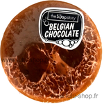 Savon Loofah chocolat belge lulu shop