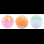 Lot de 3 Boules de Bain Fruitées carlin Pugs and kisses (2)