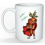 Mug Cadeau pour Végan Carotte Super Végan lulu shop (2)