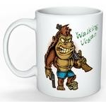 Mug Cadeau pour Végan  Gorille Walking Végan lulu shop (5)