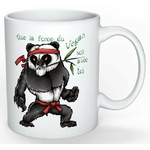 Mug Cadeau pour Végan  Panda Yoda Végan lulu shop (4)