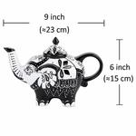 Théière en Porcelaine design éléphant I lulu shop 5