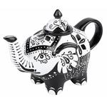 Théière en Porcelaine design éléphant I lulu shop 4