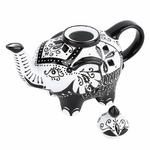 Théière en Porcelaine design éléphant I lulu shop 2