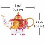 Théière en Porcelaine design éléphant II lulu shop 5