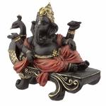 Statuette Ganesh sur Banc Paon lulu shop 2