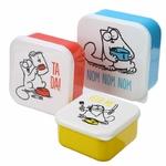 Set de Trois Boîtes Repas Simon's Cat lulu shop 1