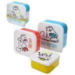 Set de Trois Boîtes Repas Simons Cat lulu shop 6