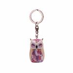 Porte clés Chouette Wise Wings Gratitude Lulu shop 1