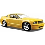 Ford Mustang GT Coupe Jaune 2006 Maisto 1-24 lulu shop 1 - Copie