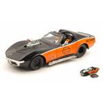 Chevrolet Corvette mat-noir orange Harley-Davidson 1970 Maisto 1-24 lulu shop 2