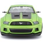 Ford Mustang Street Racer Métallique Vert Clair 2014 Maisto 1-24 lulu shop 2