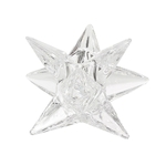 Lulu Shop Bougeoir Porte Bougie en verre étoile 2