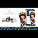 Lulu Shop poupée japonaise Kokeshi Figurine Ambassadrice One Family™ Amérique Abby