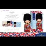 Lulu Shop poupée japonaise Kokeshi Figurine Ambassadrice One Family™ Angleterre Charlotte