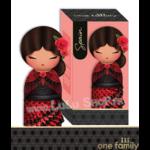 Lulu Shop poupée japonaise Kokeshi Figurine Ambassadrice One Family™ Espagne Calynda 1