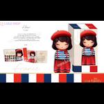 Lulu Shop poupée japonaise Kokeshi Figurine Ambassadrice One Family™ France Fleur