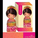 Lulu Shop poupée japonaise Kokeshi Figurine Ambassadrice One Family™ Indonésie Diah 1