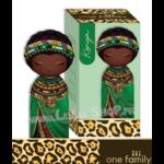 Lulu Shop poupée japonaise Kokeshi Figurine Ambassadrice One Family™ Kenya Hashiki 1
