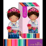 Lulu Shop poupée japonaise Kokeshi Figurine Ambassadrice One Family™ Mexique Coco 1