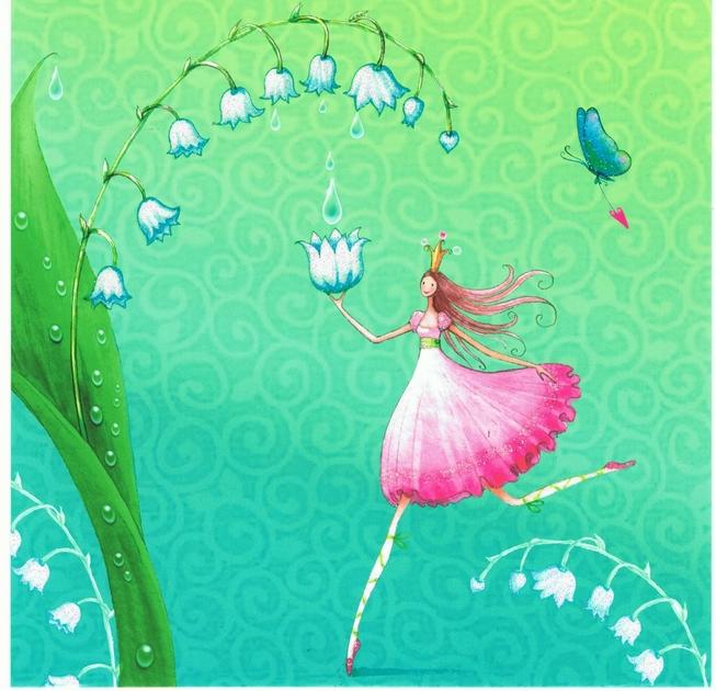 Lulu Shop Carte d'art Carte postale Mila Marquis