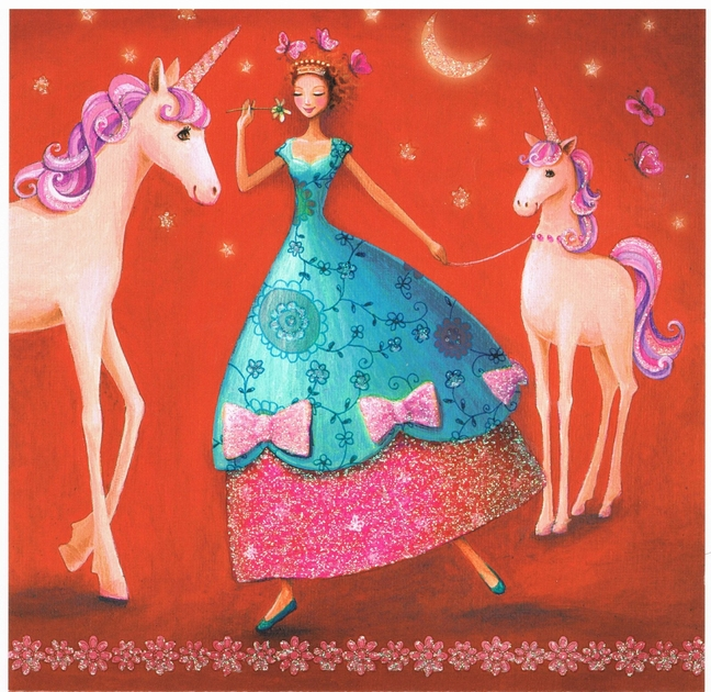 Mila Marquis Femme et les Licornes Lulu Shop