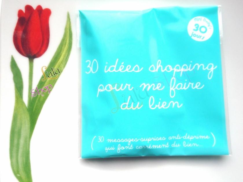 Lulu Shop Mini Daily's 30 idées shopping pour me faire du bien