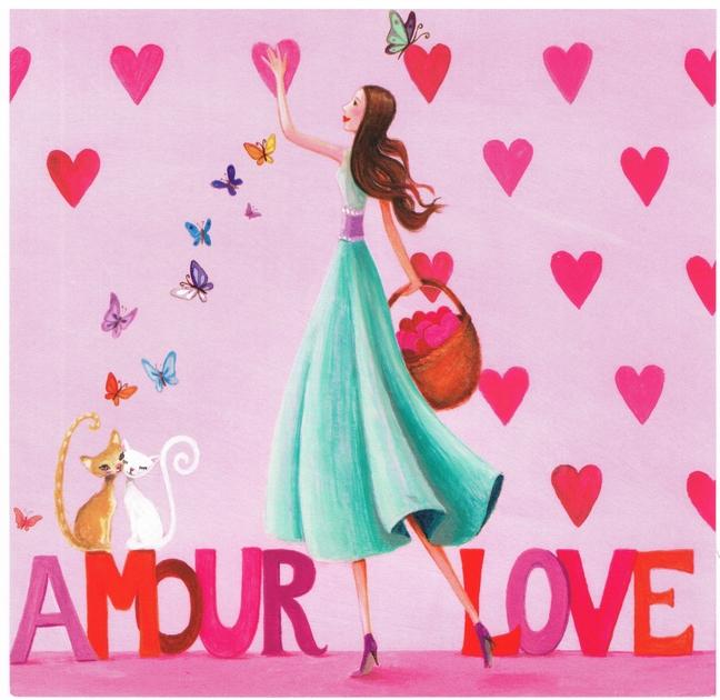 Lulu Shop Carte Mila Marquis Fée d'amour