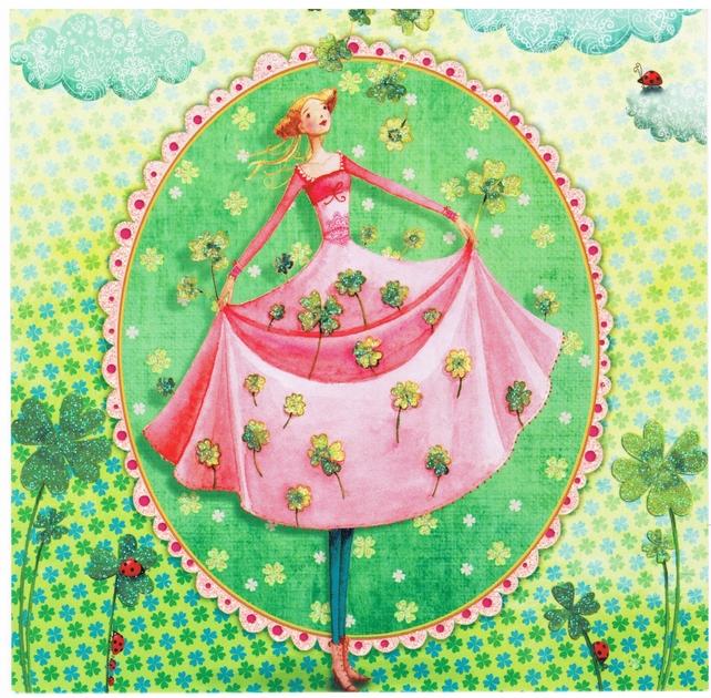 Lulu Shop Carte Mila Marquis Fée de la chance