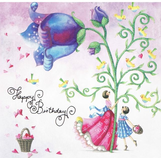 Lulu Shop Carte Nina Chen joyeux anniversaire 1