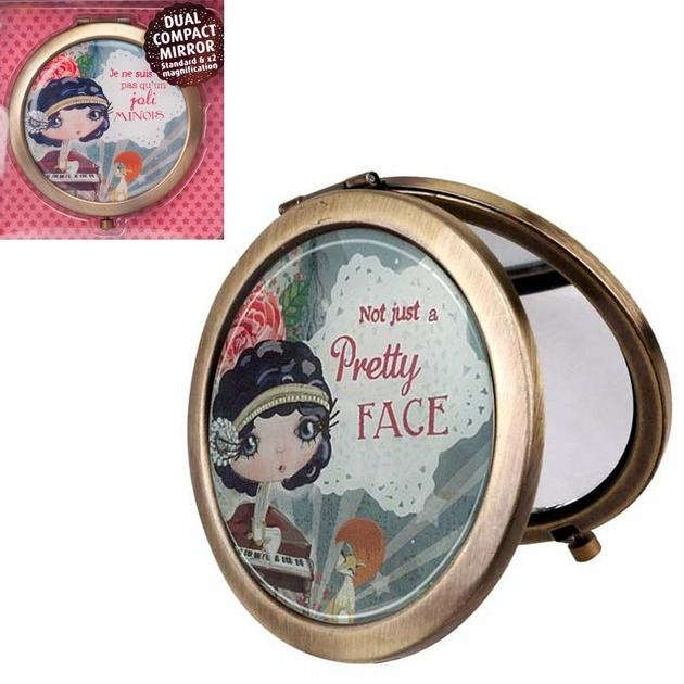 Lulu Shop VERITY ROSE Miroir de Sac Je ne suis pas qu'un joli minois, Miss Starlet