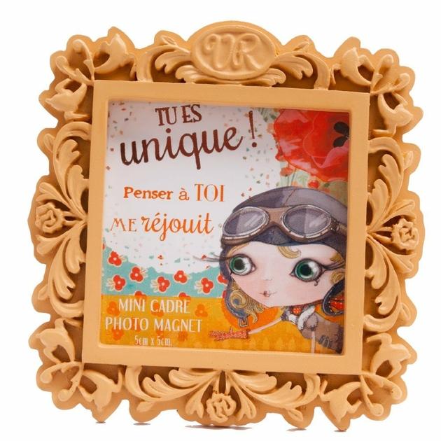 Lulu Shop VERITY ROSE Mini Cadre Photo Tu es Unique Miss Destiny