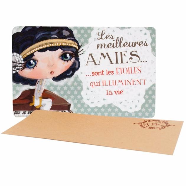 Lulu Shop VERITY ROSE Carte Cadeau Les Meilleures Amies, Miss Starlet