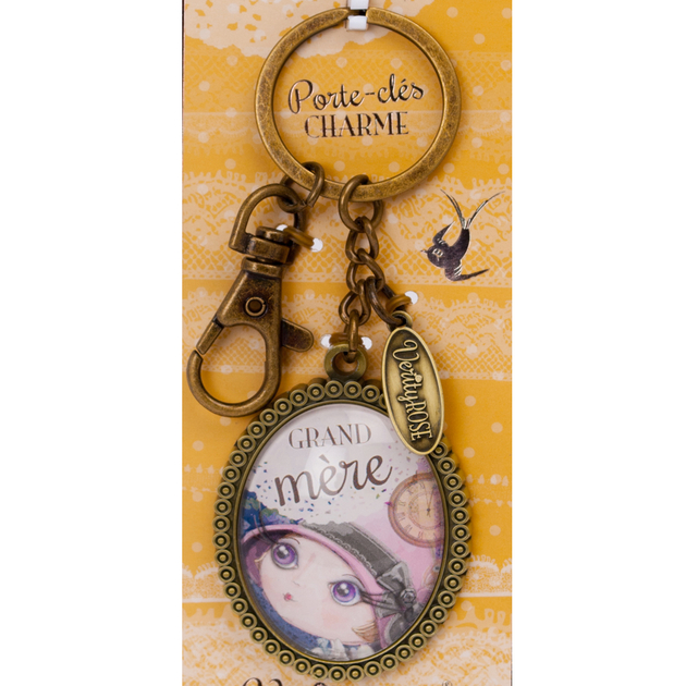 Lulu Shop VERITY ROSE Porte-Clés Charme Grand-Mère, Miss Moonstruck